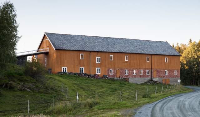 A barn at Levanger, Trøndelag, Norway