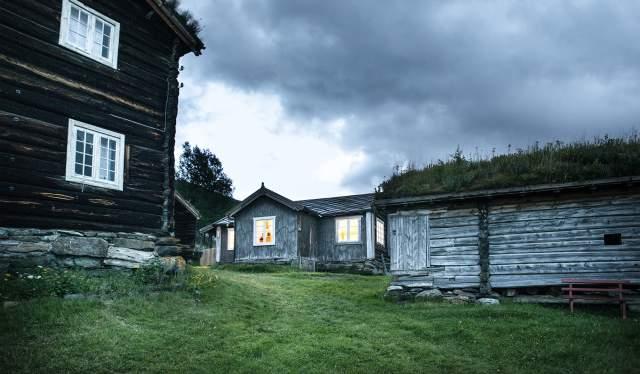 Budsjord pilgrim farm in Gudbrandsdalen, Eastern Norway