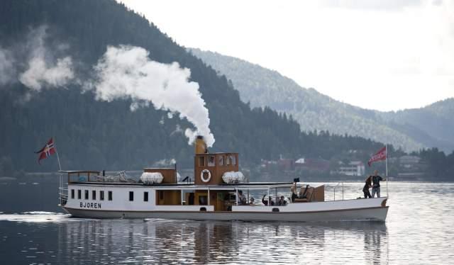 D/S Bjoren a wood-fired steamer from 1867