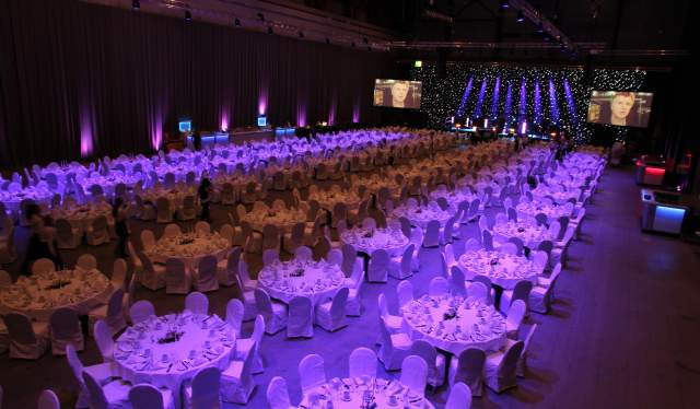 Dinner at Norway Exhibition and Convention Center, Oslo in Norway