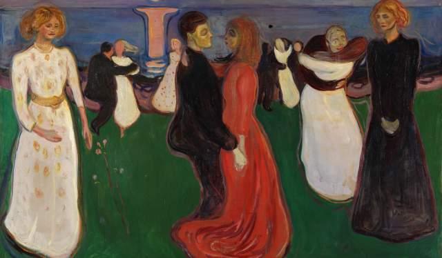 """Livets dans"", Edvard Munch (1899–1900)"