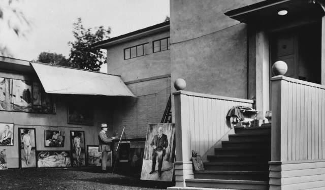 Ekely atelier, Oslo (1929)