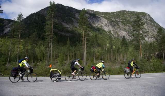 Biking in Setesdal