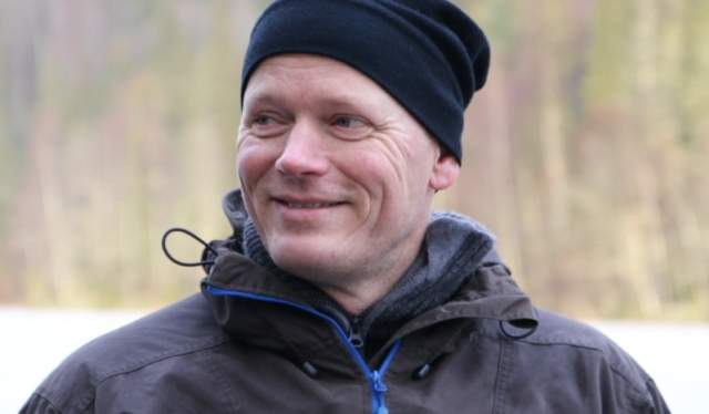 Portrait of snow manager Mads Mørch, Norway