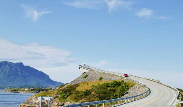 Driving the Atlantic Road