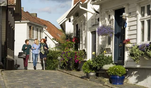 Ovre Strandgate in Old Stavanger