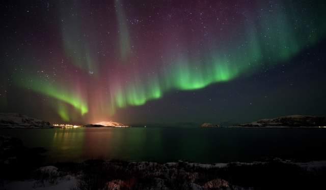 Northern Lights at Otervika, Kvaløya