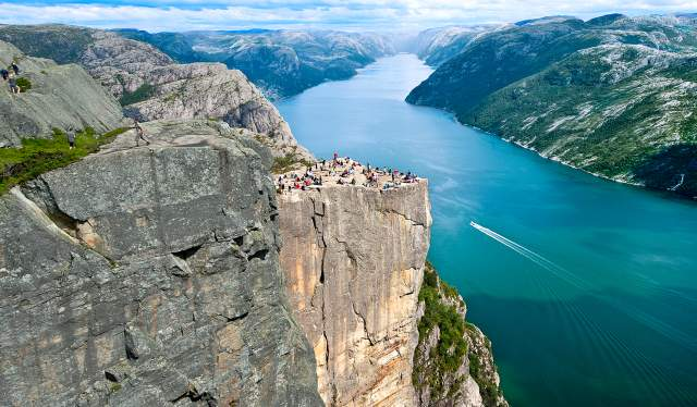 The Pulpit Rock and the Lysefjord