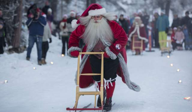 Christmas at Savalen, Eastern Norway