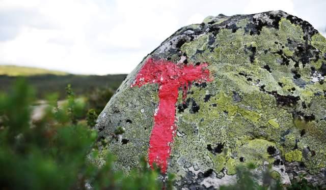Red T for Norwegian Trekking Association