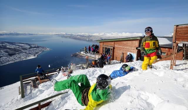 Narvikfjellet in Narvik