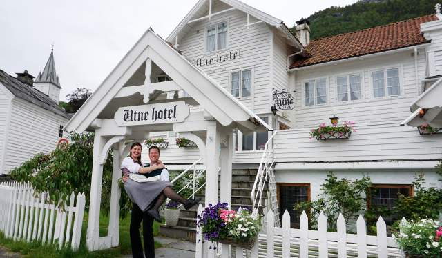 Bente R. and Kjetil Widding, Utne hotel