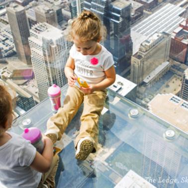 The Ledge Skydeck Chicago