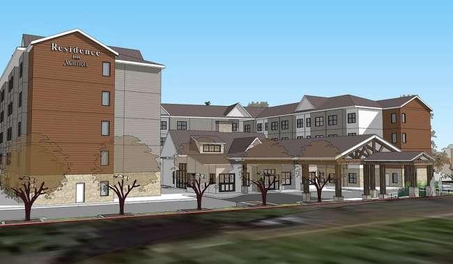 Marriott Residence Inn Rendering