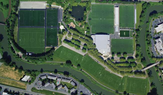 Starfire Sports Campus Aerial View of Fields