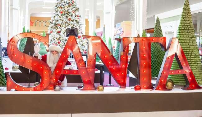 Westfield Christmas Santa Display