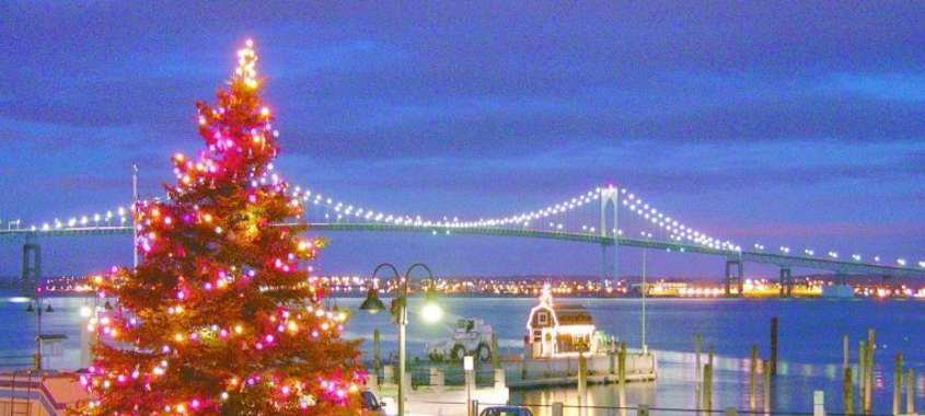 an old fashioned christmas by the sea
