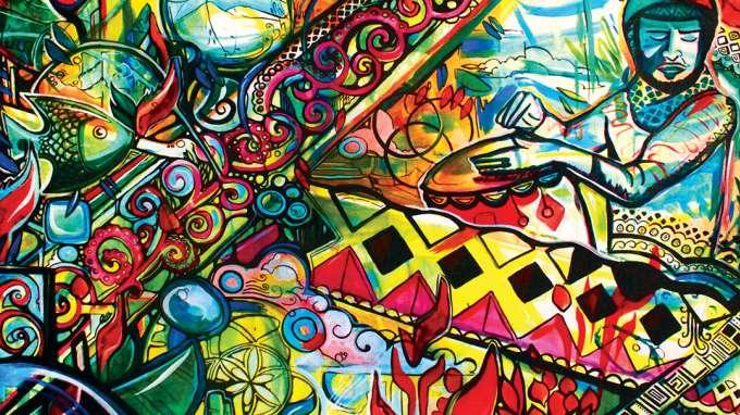 Jack & Elise Eastgate Mural