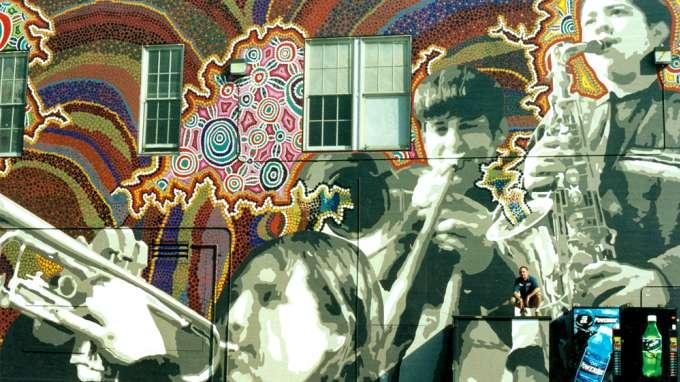 David Burke Mural