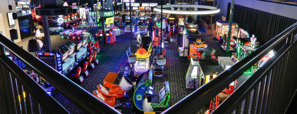 dave and busters indoor games overland park