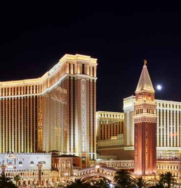 The Venetian at night
