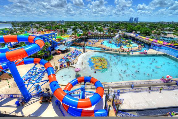 Looking For A Fun Family Activity In Daytona Beach That Adds Some Twisting And Turning To Your Trip Lagoon Waterpark Entertainment Center Has What