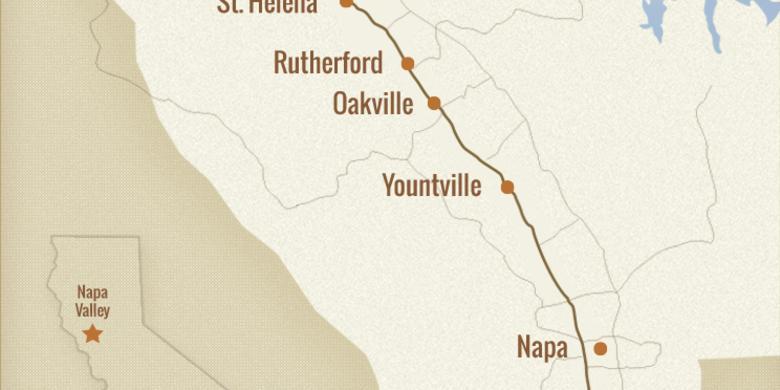 Map Of Napa Valley Napa Valley Regional Map | Visit Napa Valley Map Of Napa Valley