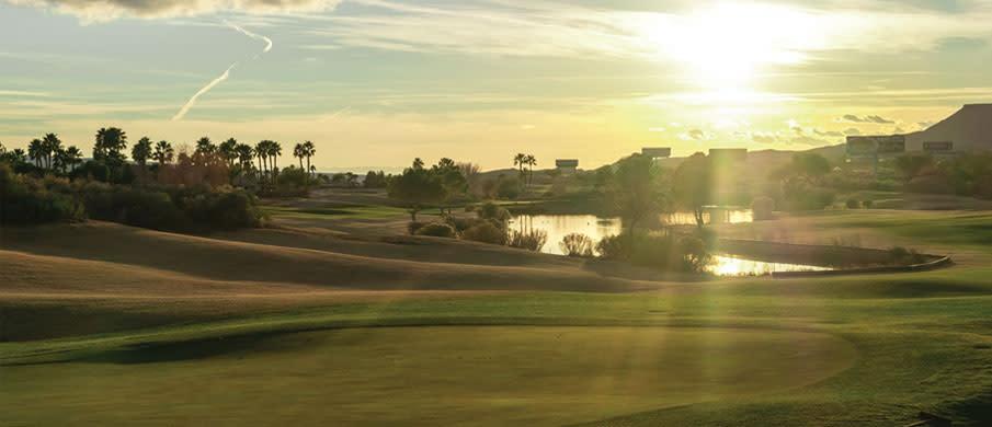 Mesquite Golf Course Landscape