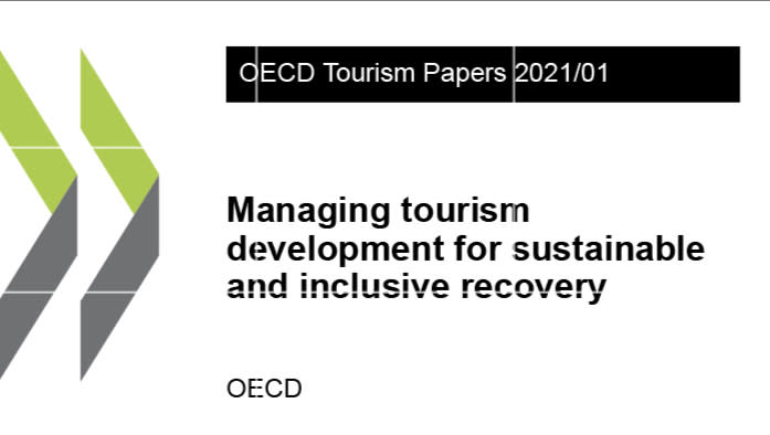 OECD rapport Managing tourism develiopment for sustainable and inclusive recovery