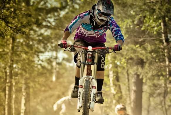 Mountain Bike Freeride In Norvegia Mtb Downhill