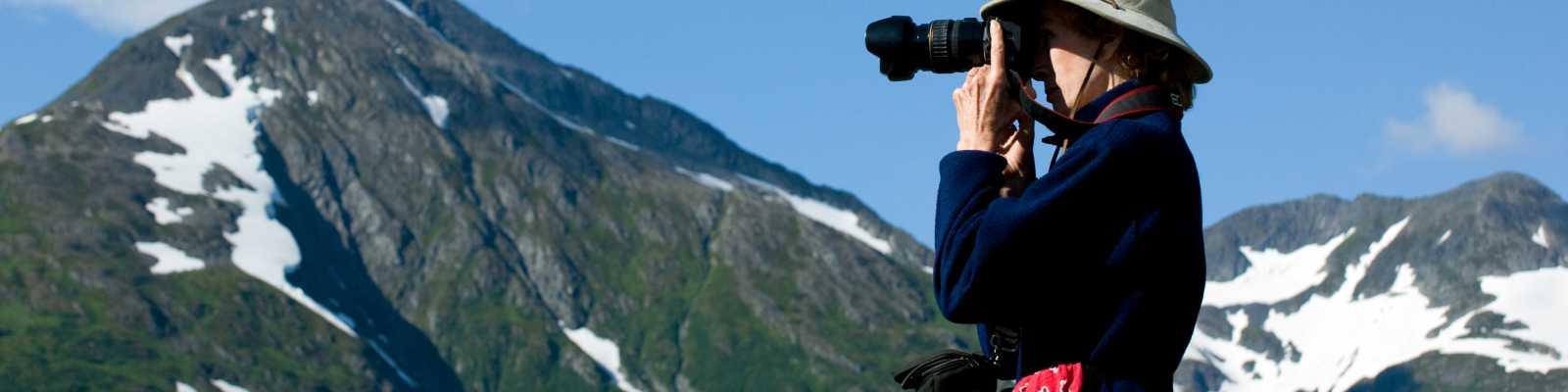 Alaska mountain photograph
