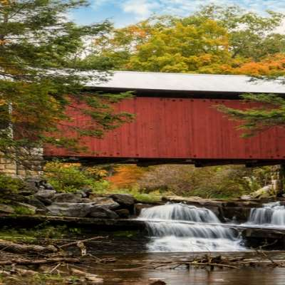 Rusty Glessner, Pack Saddle Bridge, Somerset County