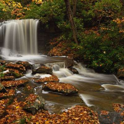 Charlotte Pletcher, Cole Run Falls, Somerset County