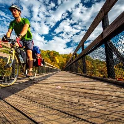 Kurt Miller, Ohiopyle High Bridge, Ohiopyle, PA