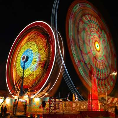 Rusty Glessner, Ferris Wheel at the Somerset County Fair 2013