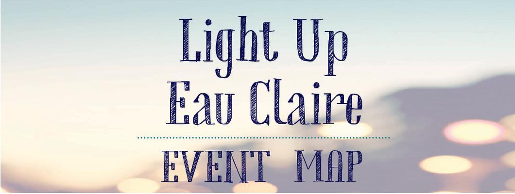 Light Up Eau Claire Event Map