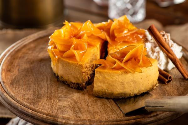 burlock pumpkin cheesecake