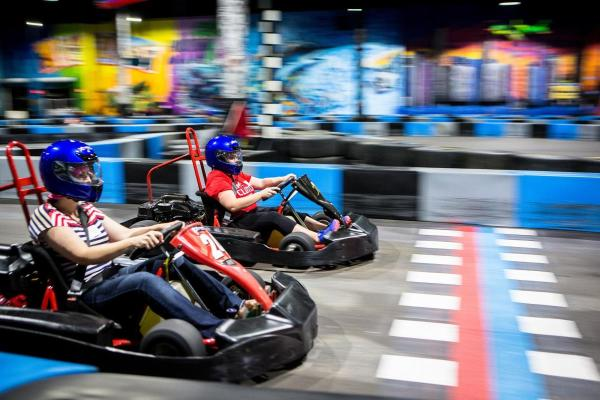 Go-Kart Racing at Fort Lauderdale's Xtreme Action Park
