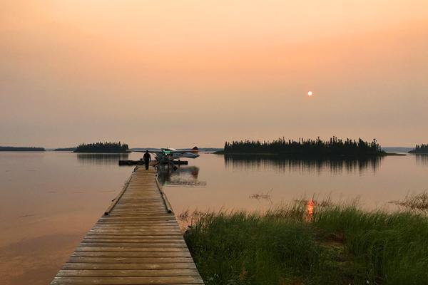Ganglers Eco Lodge, Manitoba