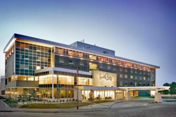 Exterior shot of the Inn at the Forks, Winnipeg