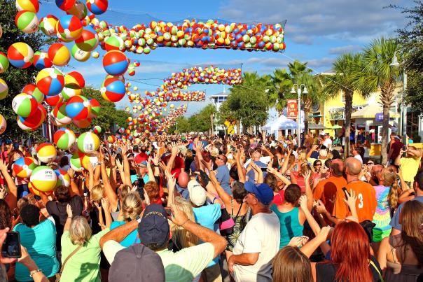 Piratefest Ball Drop