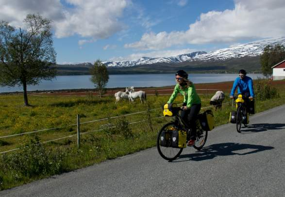 Cycling in Tromsø