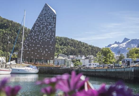 Tindesenteret på Åndalsnes