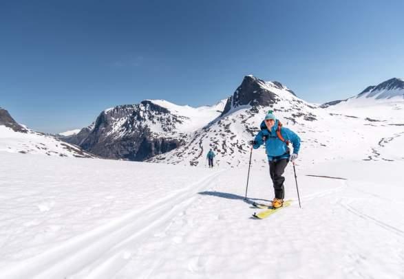 Ski touring in Romsdal