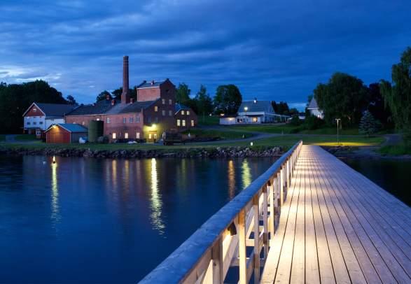 Atlungstad distillery in the Hamar region, Eastern Norway