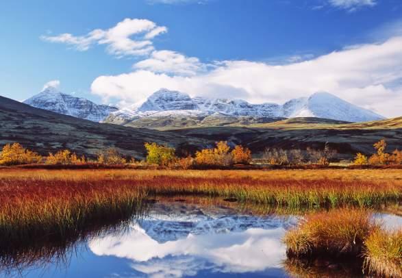 Døråldalen i Rondane om høsten