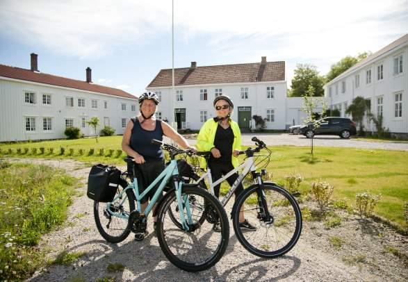 Øyhopping med sykkel på Namdalskysten