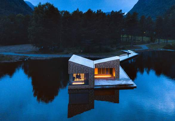The Soria Moria Sauna in Telemark, Eastern Norway