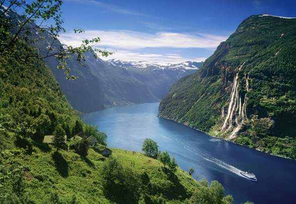 Image result for norway fjords