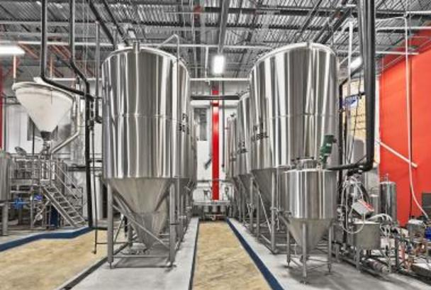 Beltway tanks polished and ready for brewing